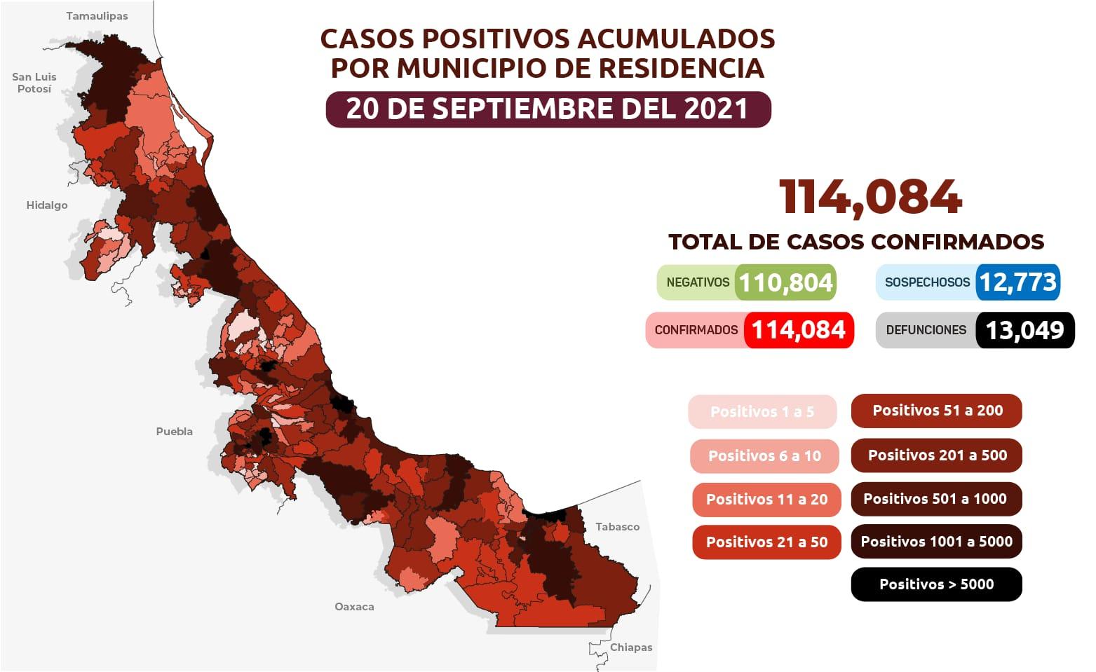 Supera Veracruz los 114 mil contagios de Coronavirus | Hora Cero